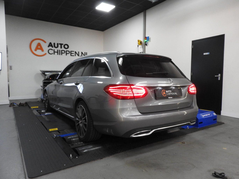 104nm extra voor de Mercedes C220 Bluetec na tuning  - Auto